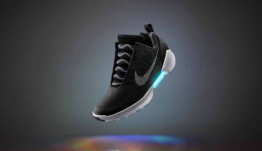 Back to the Future: Self Laced Shoes