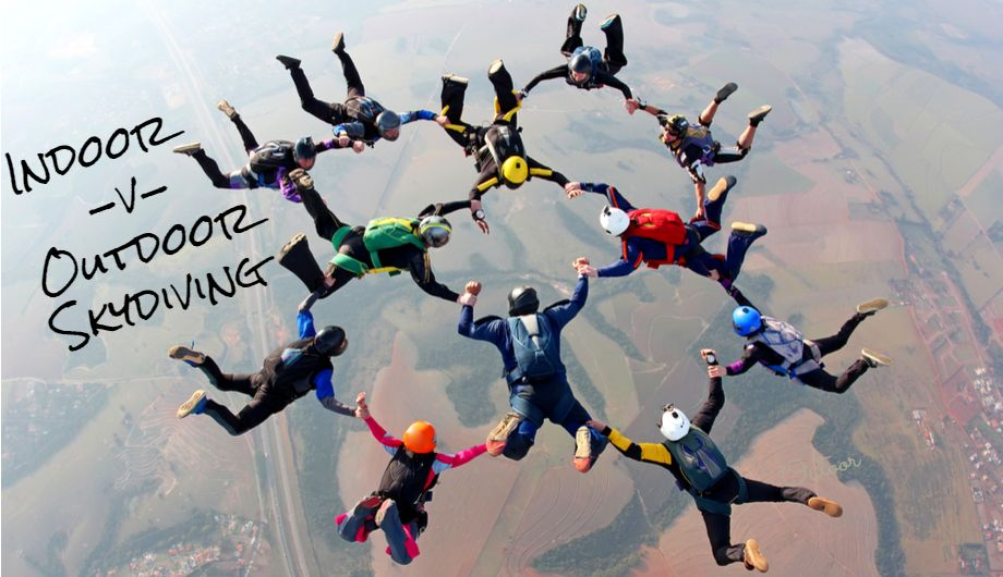 Indoor v Outdoor skydiving: The Breakdown