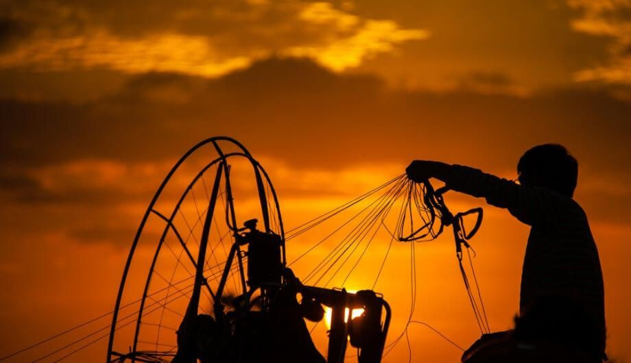 Paramotor - taking the extreme one step further