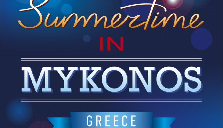 Party in Mykonos: the greek way