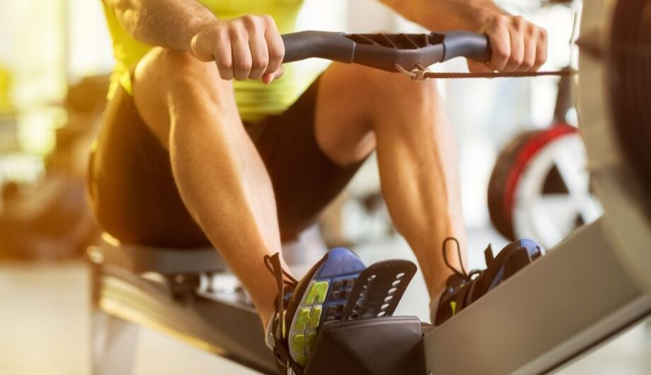 Replace the gym with a rowing machine
