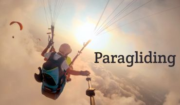 Wanna Fly? First Stage: PARAGLIDING