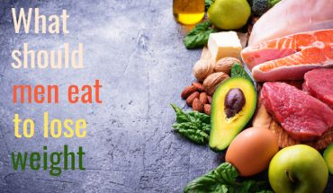 What should men eat to lose weight