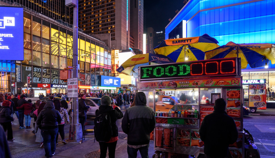 Best late night Food in NEW YORK