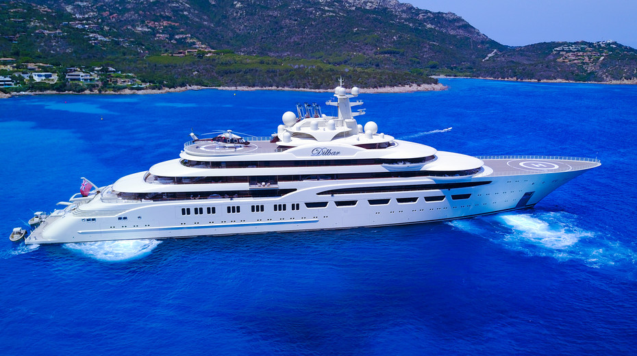 The MOST EXPENSIVE YACHTS dilbar