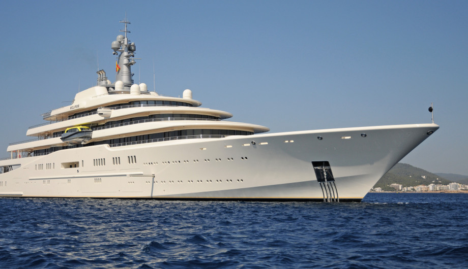 The MOST EXPENSIVE YACHTS eclipse