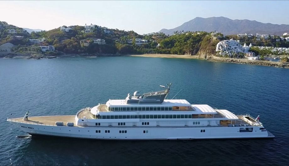 The MOST EXPENSIVE YACHTS in the world the rising sun