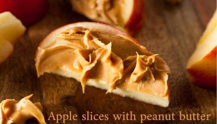 Apple Slices Peanut Healthy Snacks Cravings