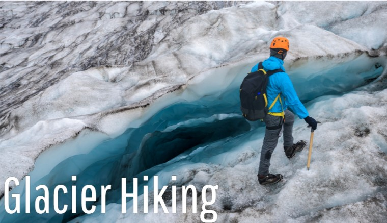 Glacier Hiking Outdoor Sports