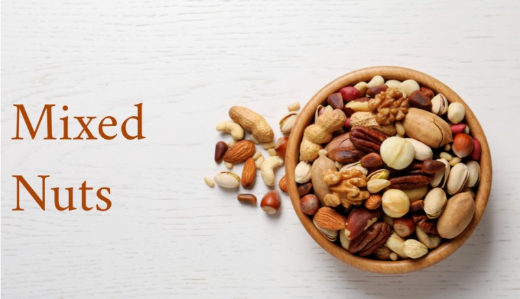 Mixed Nuts Healthy Snacks Cravings