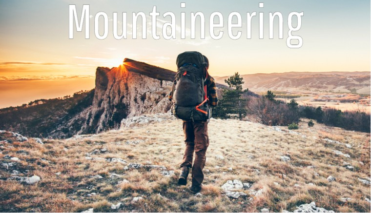 Mountaineering Outdoor Sports