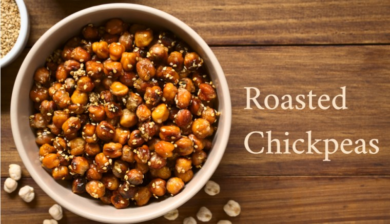 Roasted Chickpeas Healthy Snack Cravings