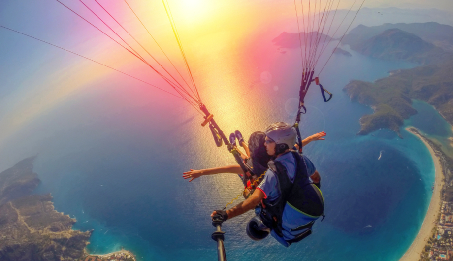 Paragliding Extreme Sports Outdoors