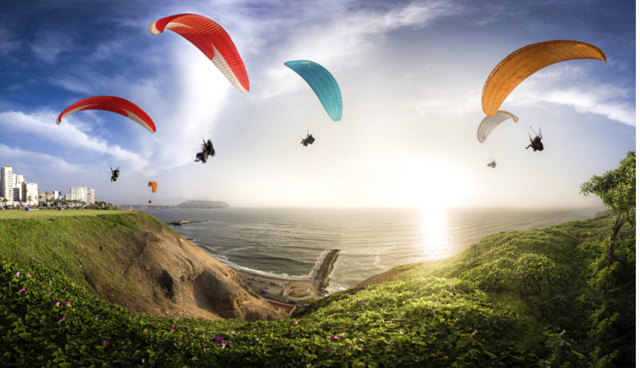 Paragliding Extreme Sports