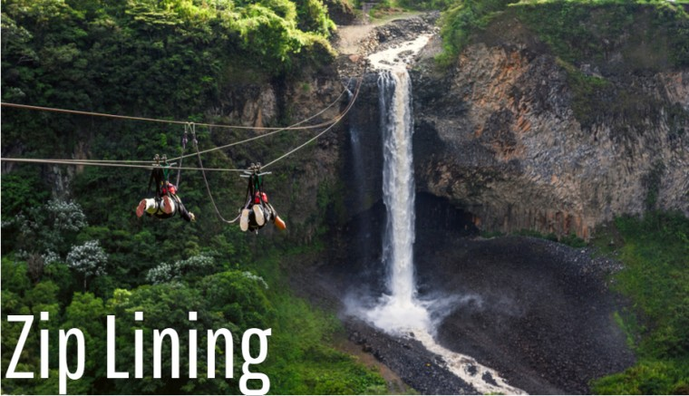 Zip Lining Outdoor Sports